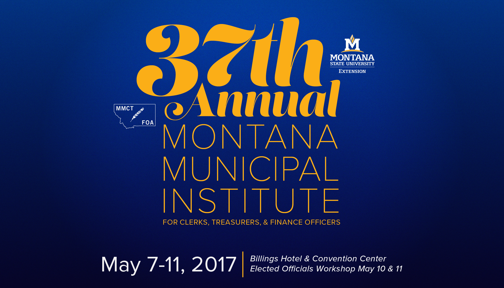 37th Annual Municipal Institute