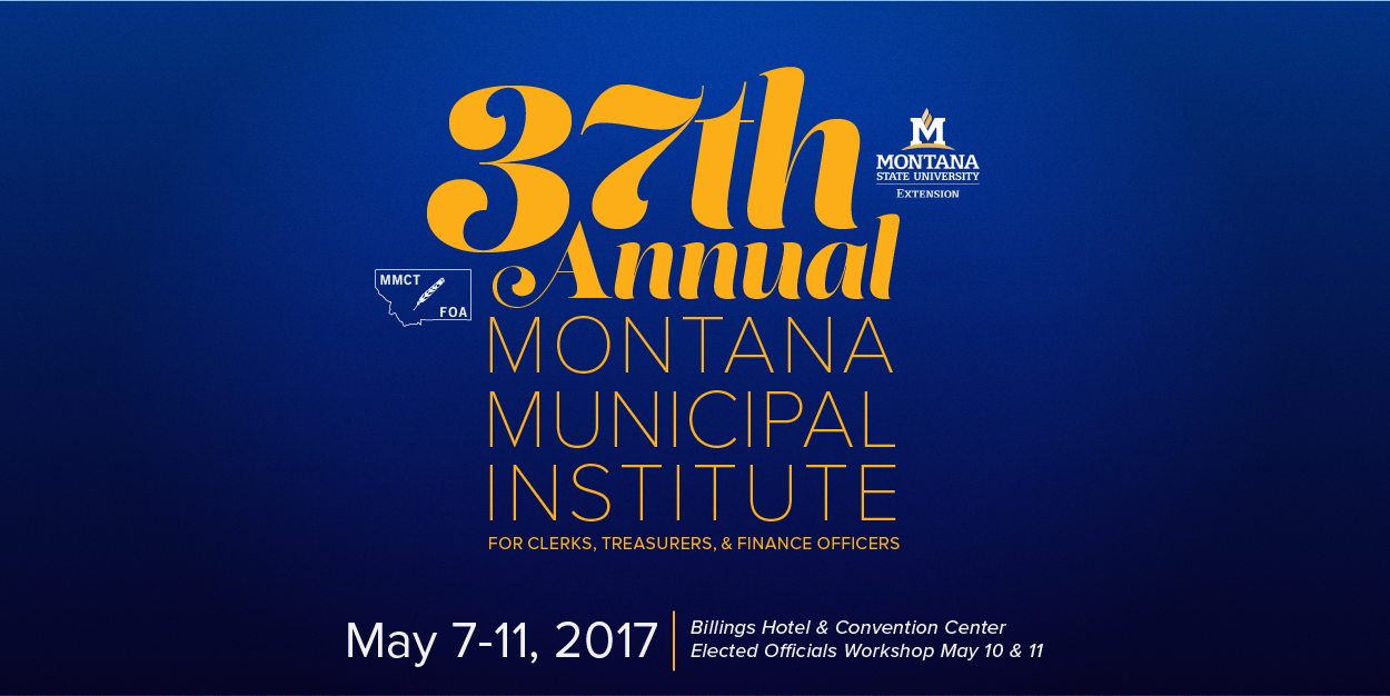 37th Annual Municipal Institute 2017