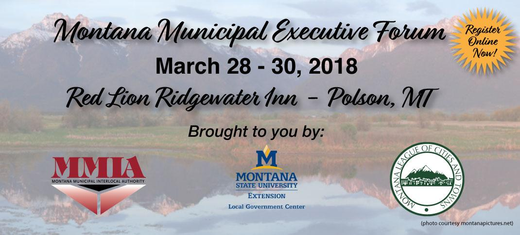 March 28-30, 2018 in Polson, MT